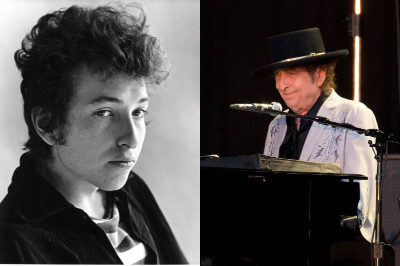 bob dylan befoe and after photos