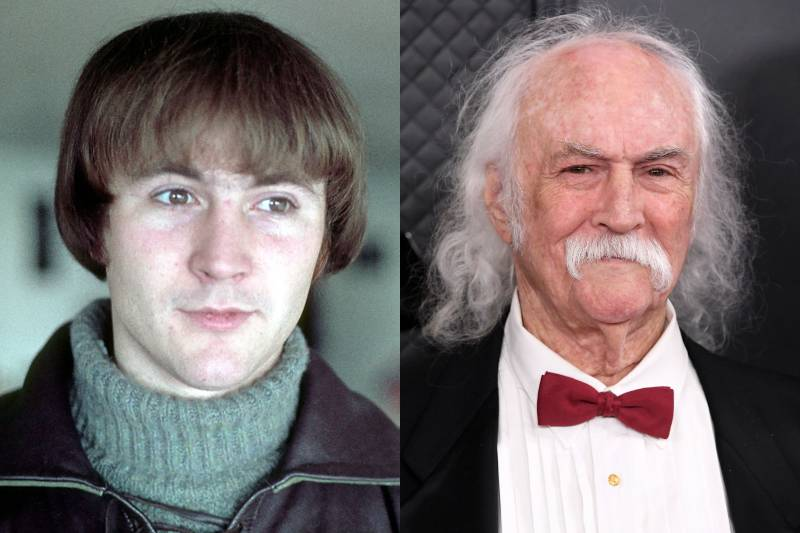 david crosby before and after photos