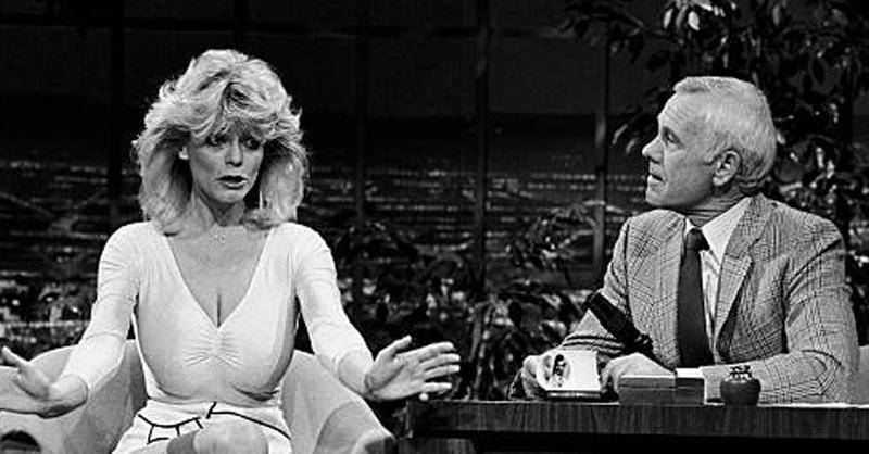 Carol Wayne On The Tonight Show With Johnny Carson