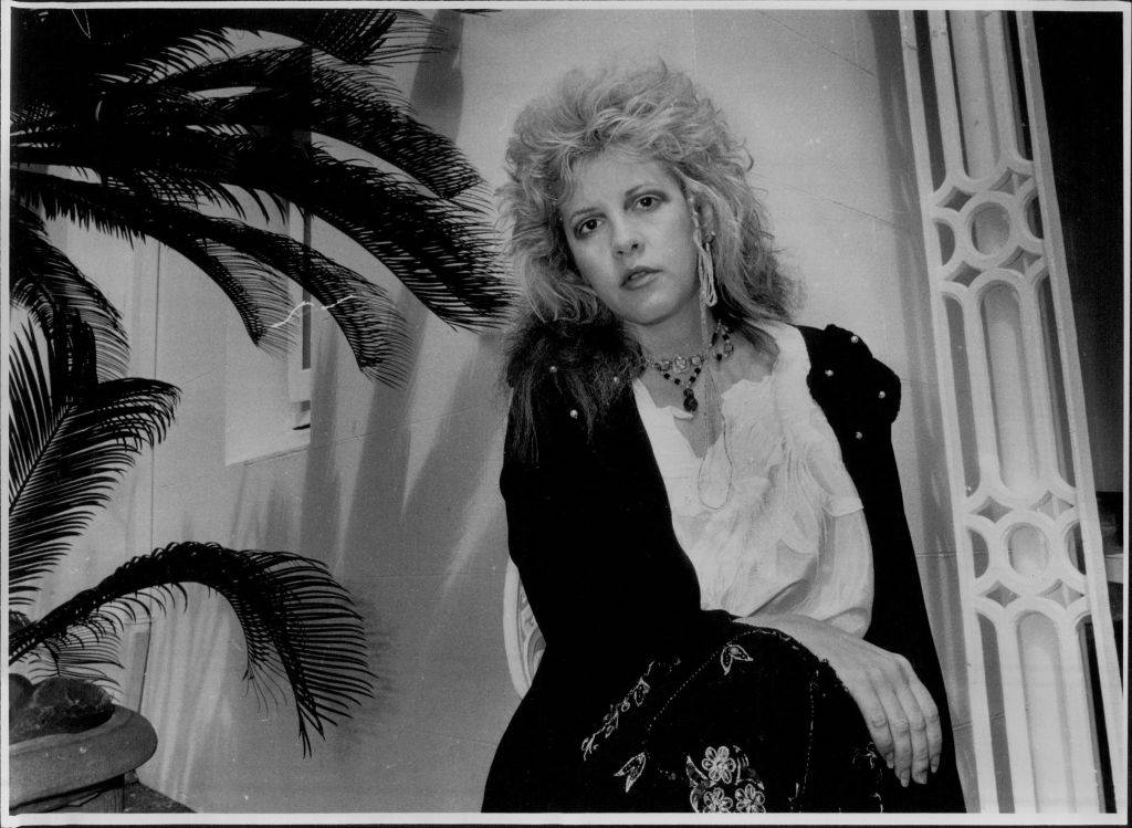 Stevie Nicks. September 19, 1986.
