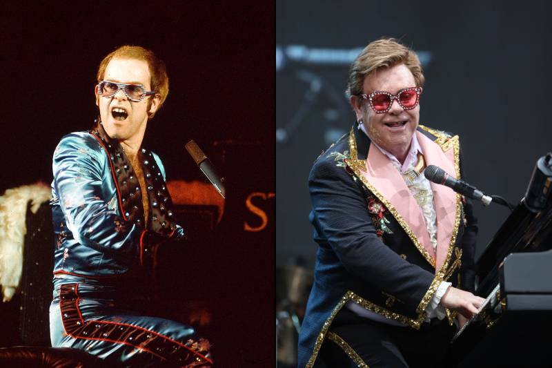 elton john before and after images