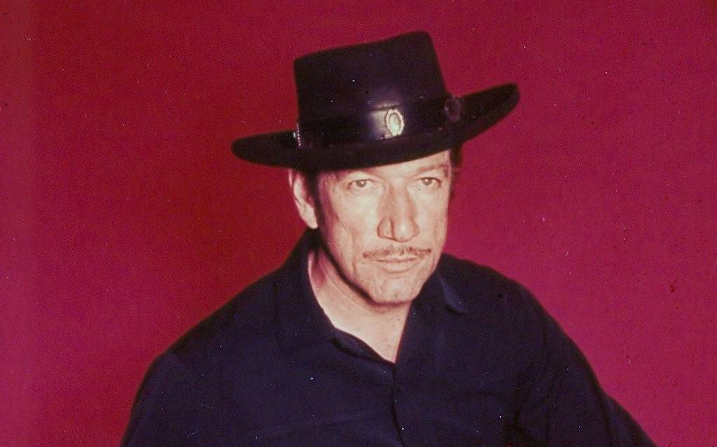 Colored picture of Richard Boone
