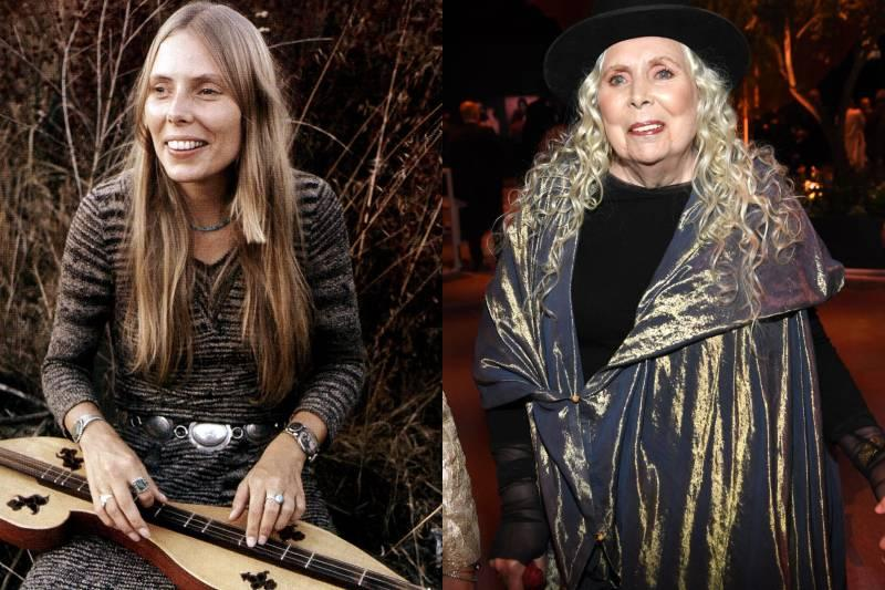 joni mitchell before and after photos