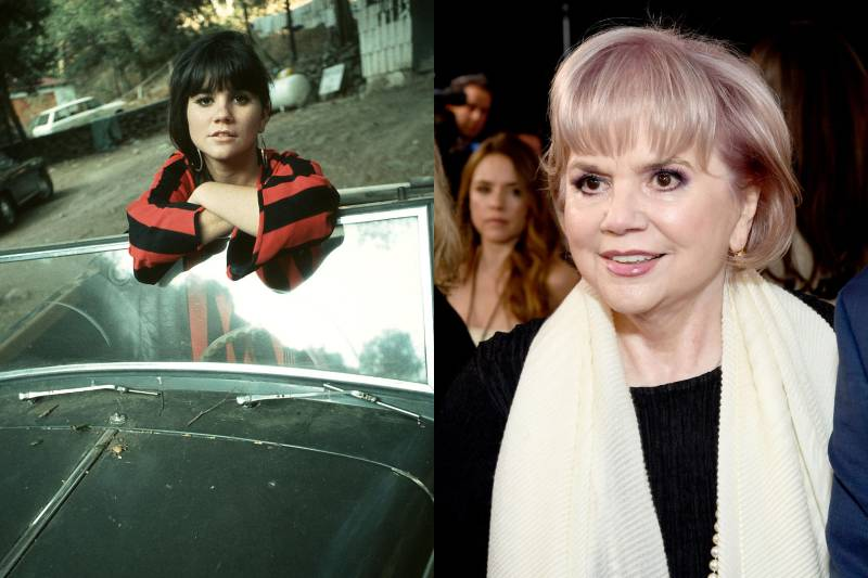 linda ronstadt before and after images