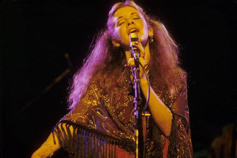 Stevie Nicks performing live onstage