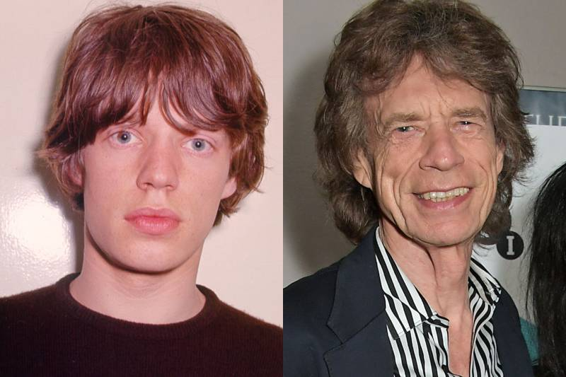 mick jagger before and after photos