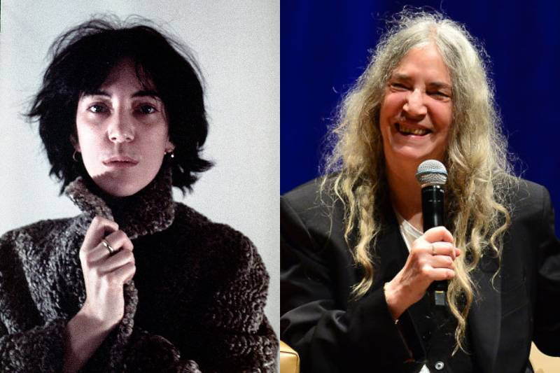 patti smith before and after photos