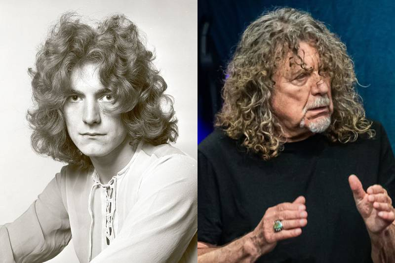 robert plant before and after photos