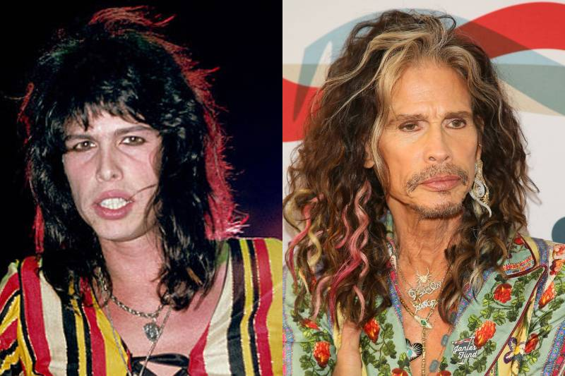 steven tyler before and after photos