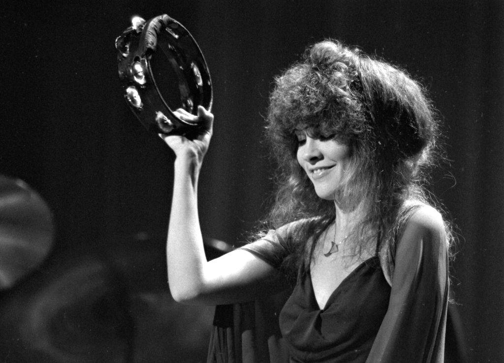 Stevie Nicks performs with Fleetwood Mac at the Boston Garden on Nov. 17, 1979.