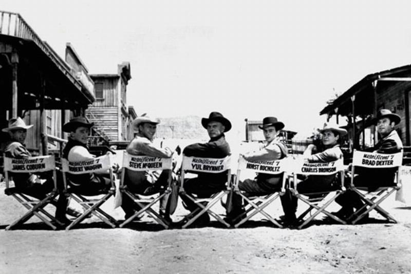 The Seven Behind The Scenes Of The Magnificent Seven