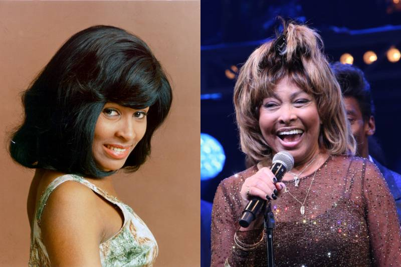 tina turner before and after photos