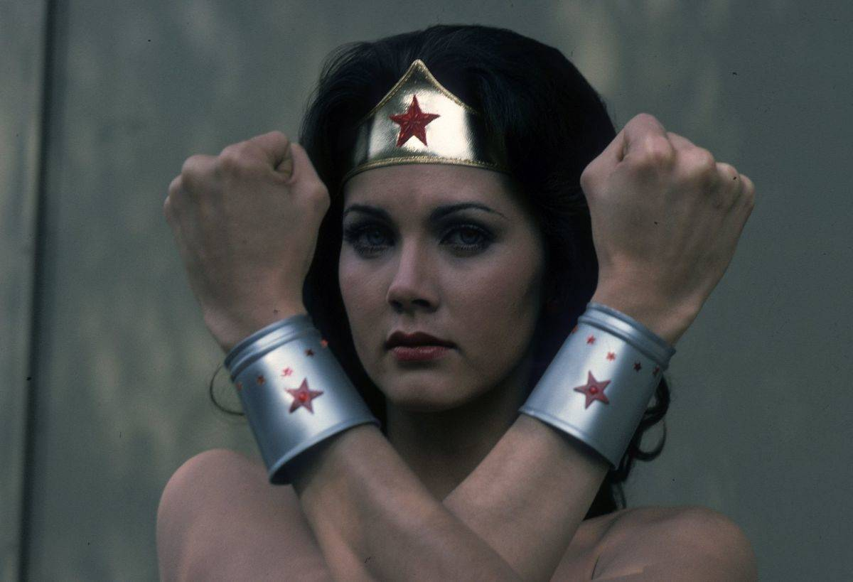 Wonder Woman Playing Towards The Male Demographic