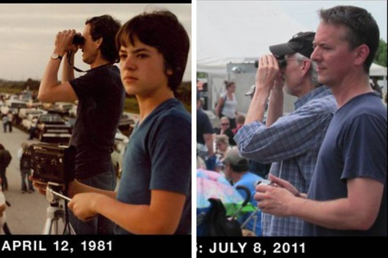 Father and Son: First Shuttle Launch and Last Shuttle Launch