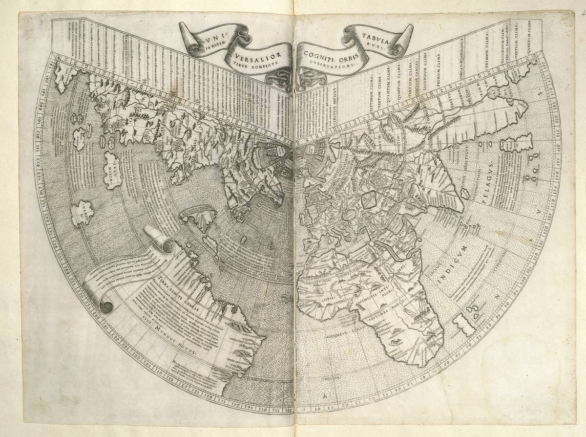 Johannes Ruysch's Map Is One Of The First To Show America