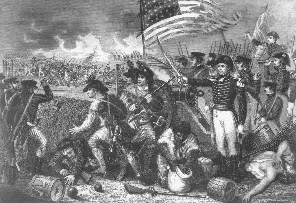 Jackson leading the army