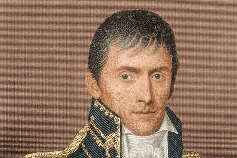Portrait of a young Jackson