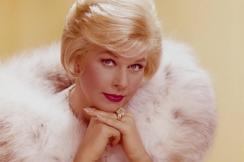 Doris Day poses for a photo in 1965.