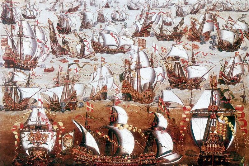 Picture of the armada