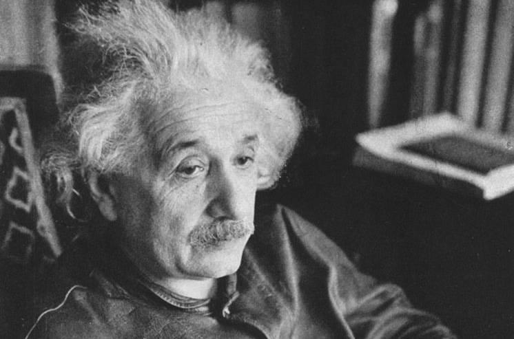 Photo of Einstein