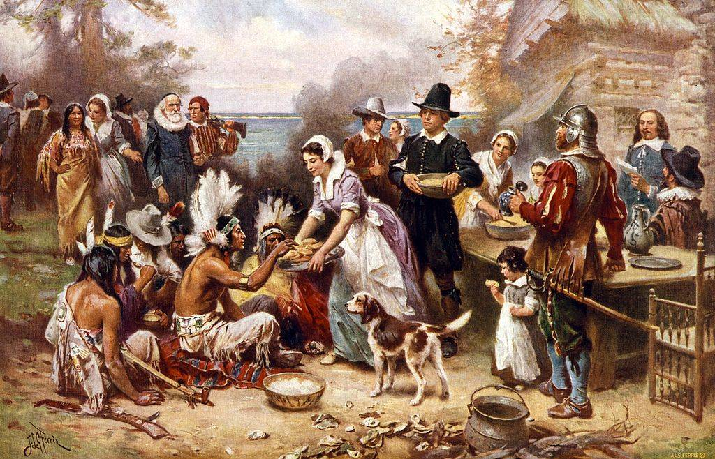 Painting of Thanksgiving