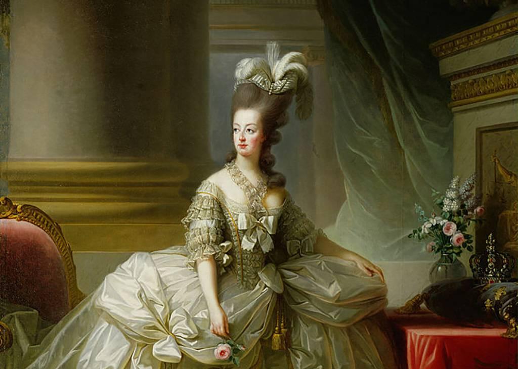 Painting of Marie Antoinette