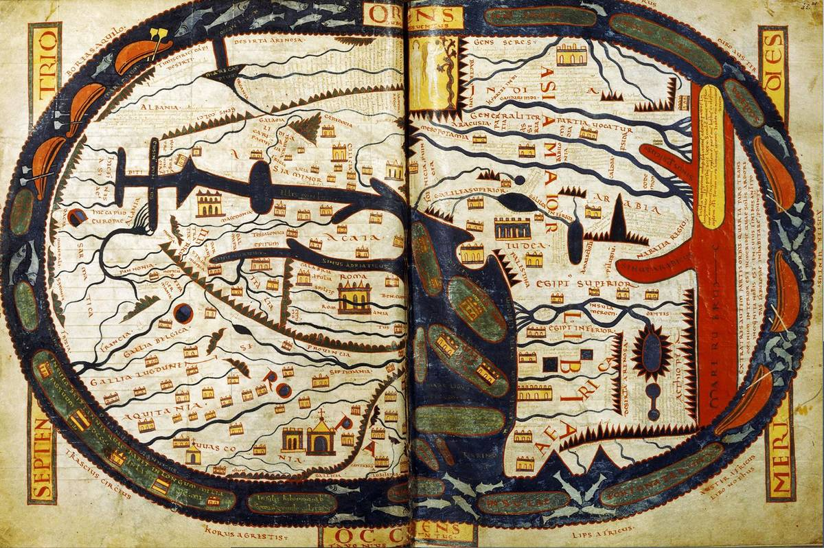 Beatus Of Libeana's Map Is Considered A