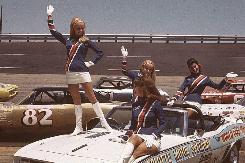 Girls waving