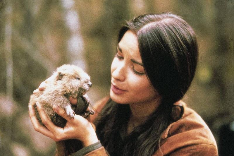 annie galipeau holding a small animal