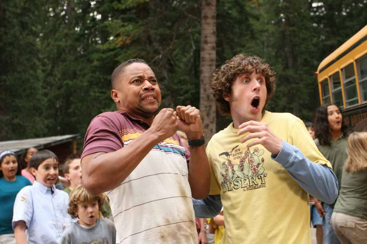 cuba gooding jr. looking scared in daddy day camp
