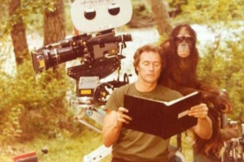 Clint Eastwood Had An Unexpected Co-Star, An Orangutan