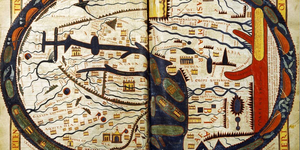 Ancient Maps That Show How Our Ancestors Saw The Physical World