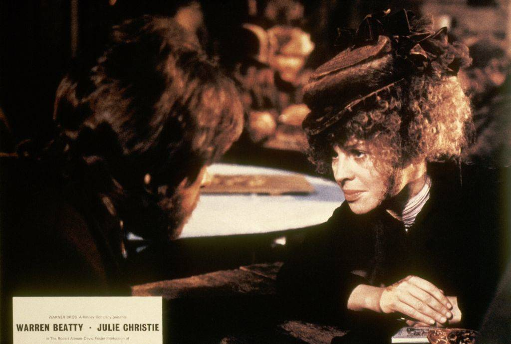 julie christie in mccabe & mrs. miller
