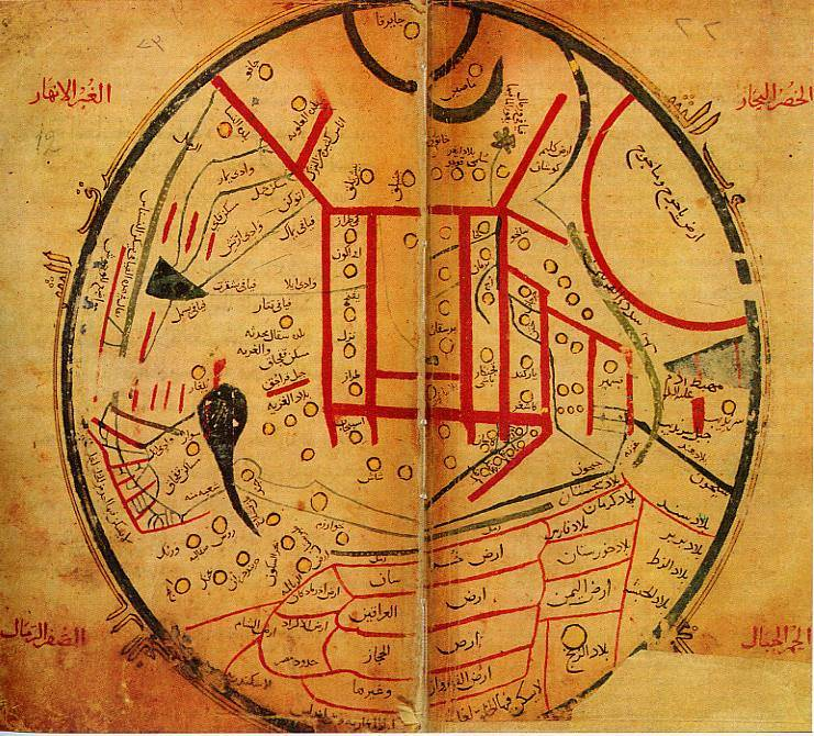 Mahmud al-Kashgari's Map Shows Places Prophesied To Appear In The End Times