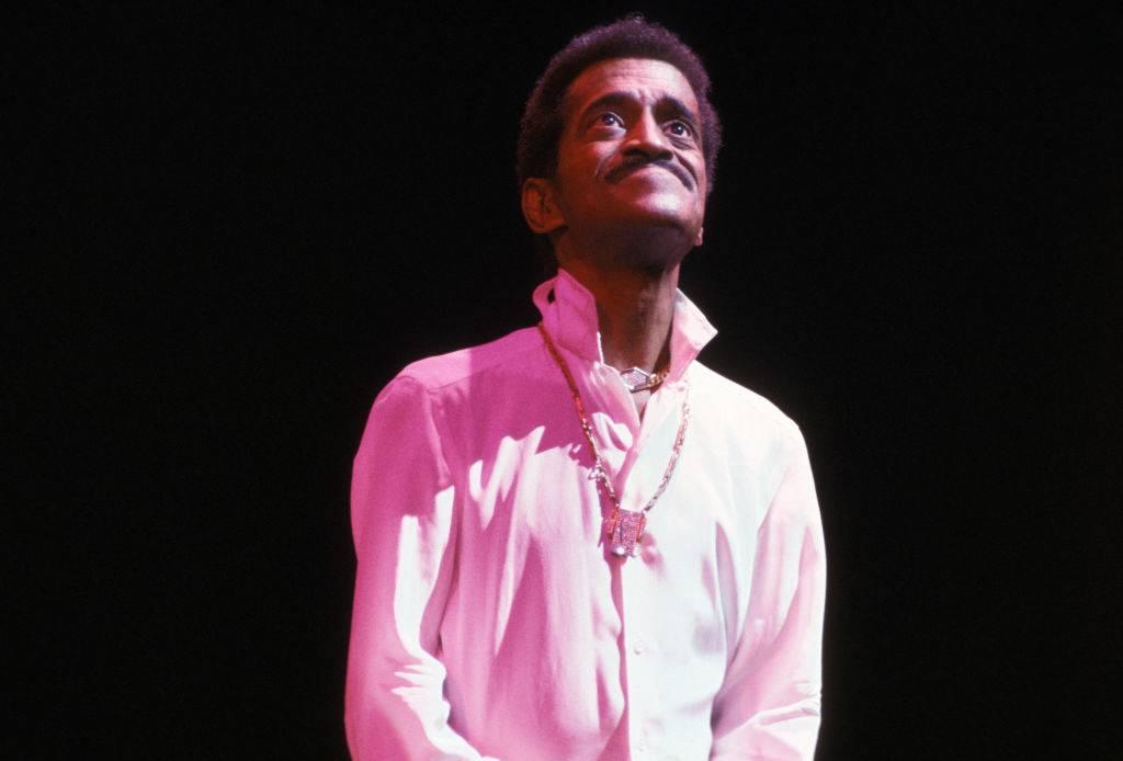 Sammy Davis, Jr. en concert à Paris dans les années 70, France. Circa 1970.