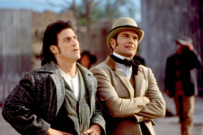 richard lewis and robert picardo in wagons east