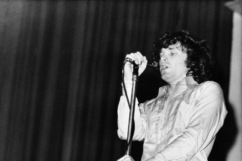 Morrison, Jim - Musiker, USA/ Auftritt, undatiert