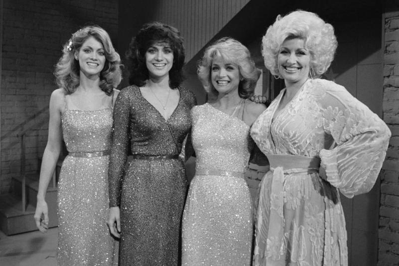 Mandrell Sisters with Dolly Parton