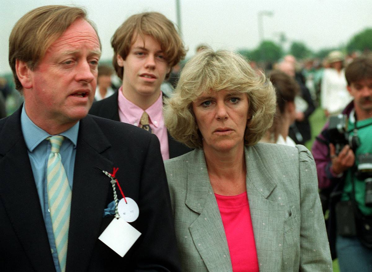 ANDREW PARKER-BOWLES and CAMILLA