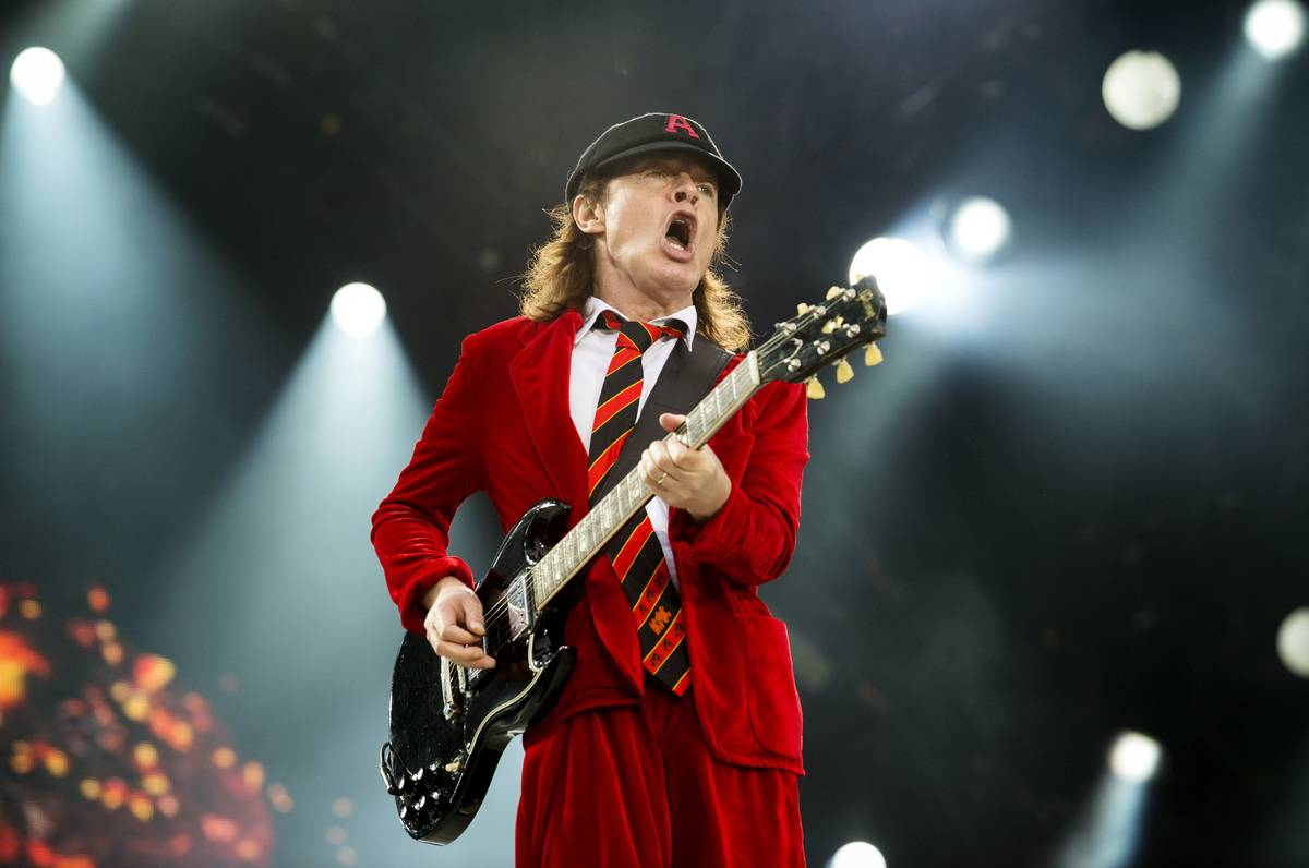 Angus Young - AC/DC - Now