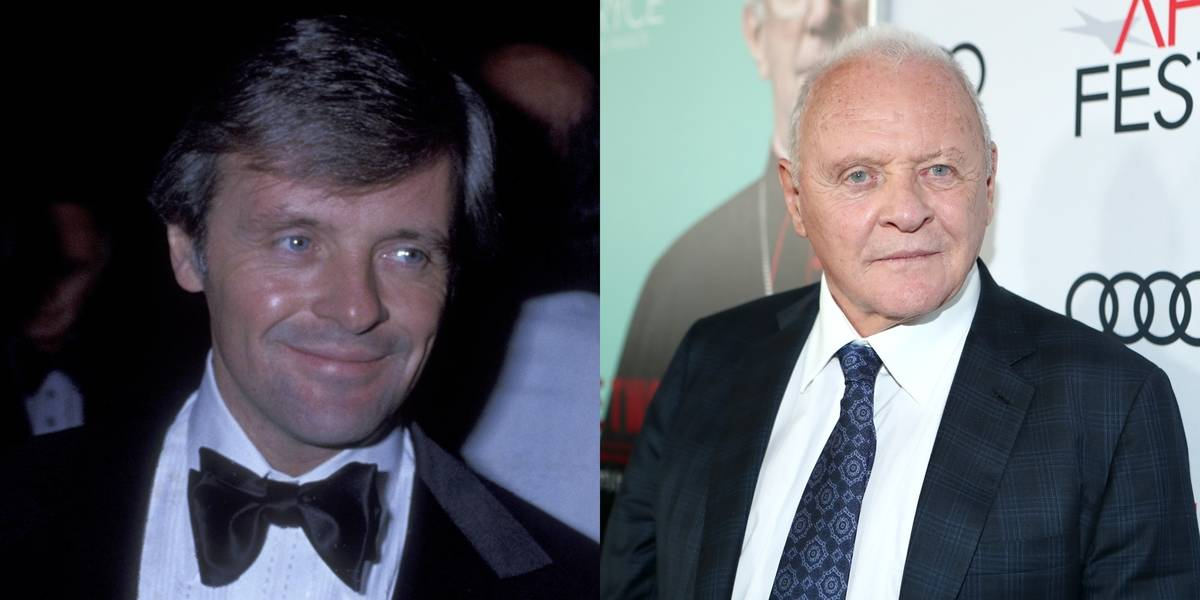 Anthony Hopkins Looks Have Changed A Lot