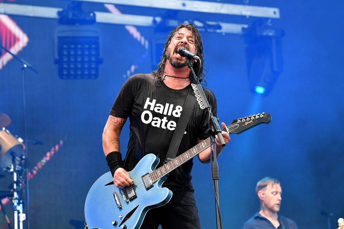 Dave Grohl - The Foo Fighters - Now