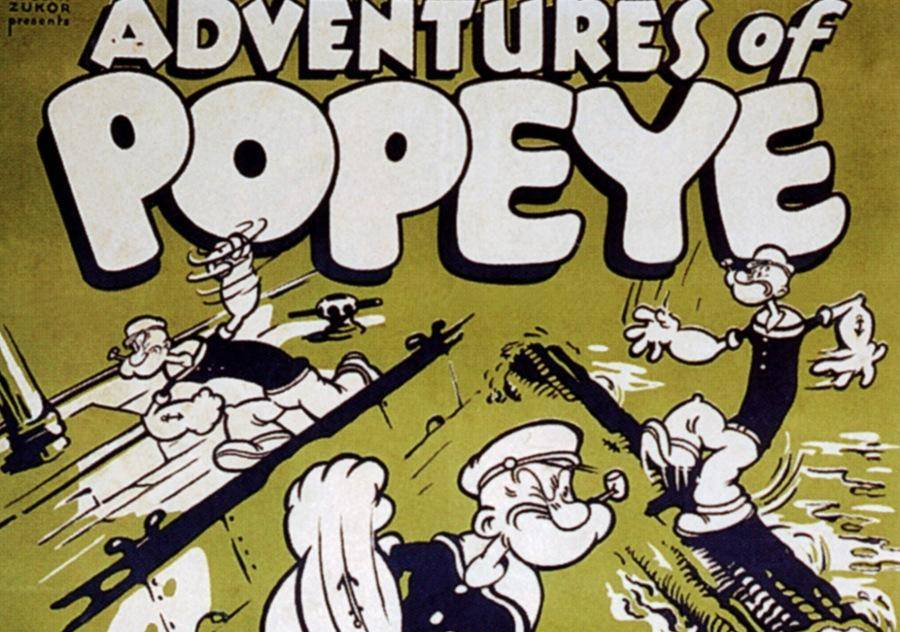 During WWII, Popeye Cartoons Were Definitely Not Politically Correct