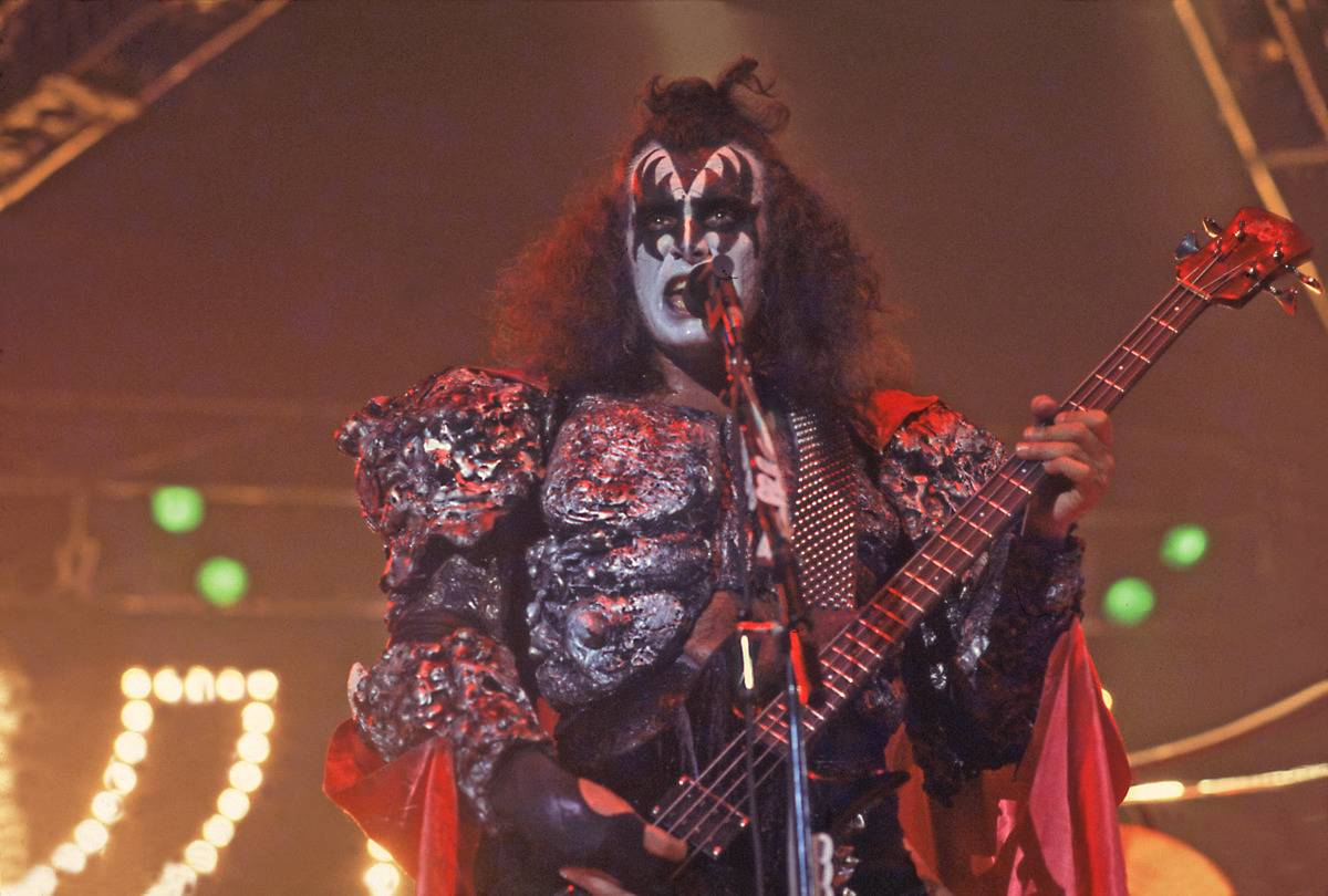 Gene Simmons - KISS - Then