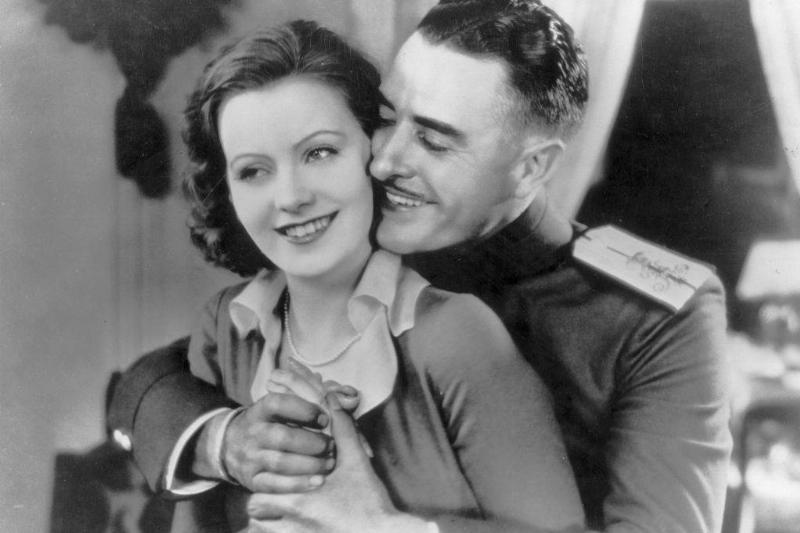 Picture of Greta Garbo and John Gilbert