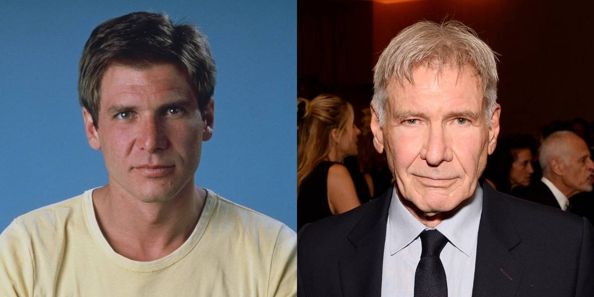 Harrison Ford Went All-In With His Grey Hair