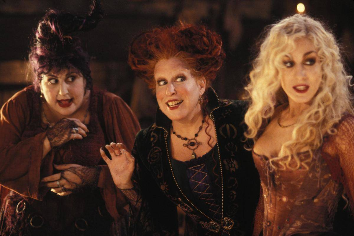 Witches in the movie