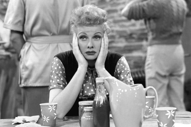 It Was Hard Not To Love Lucille Ball In 1951