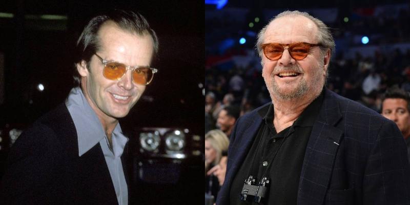 Jack Nicholson Still Rocks Orange-Lensed Glasses