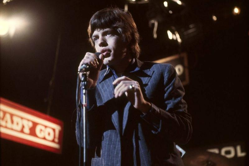 Mick Jagger - The Rolling Stones - Then